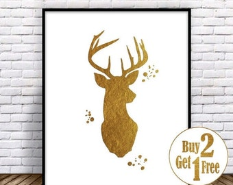 Unique Faux Deer Head Related Items Etsy