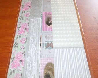 Pack of 4 Decoupage Papers