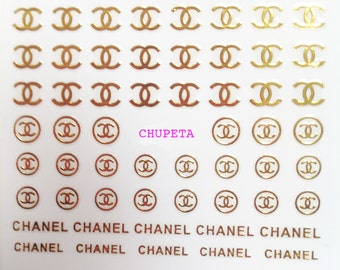 Nail Art Sticker stickers to decorate your nails with  logo