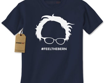 Men's Feel The Bern Shirt Printed Unisex Adult Bernie Sanders Graphic T-shirt #1229 Expression Tees Trending Clothing / Apparel Usa Seller