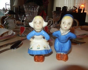 HOLLAND BOY and GIRL Figurines