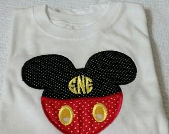 Personalized Mickey shirt