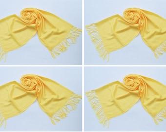 4 YELLOW PASHMINA,pashmina scarf,pashmina shawl,bridesmaid shawls,Pashmina Wedding,scarf, shawl, scarves 010
