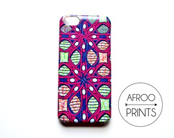 AFROOPRINTS. African Wax II print iPhone case