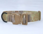 GT COBRA Buckle Tactical Dog Collar, 100% Made in America by Rogue K9