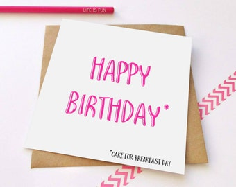 Cake & Birthdays Greeting Card