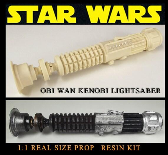 star wars lightsaber obi wan kenobi prop harz. Black Bedroom Furniture Sets. Home Design Ideas