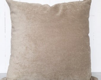 camel cushion cover
