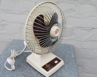Vintage 70' Maspion electric table fan