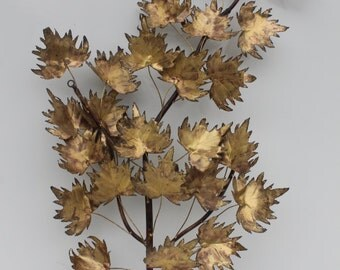 Curtis Jere Maple Tree Branch  Wall Sculpture.