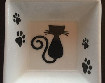 Cat Ring Dish- Cat Lady- Crazy Cat Lady- Cat Lover