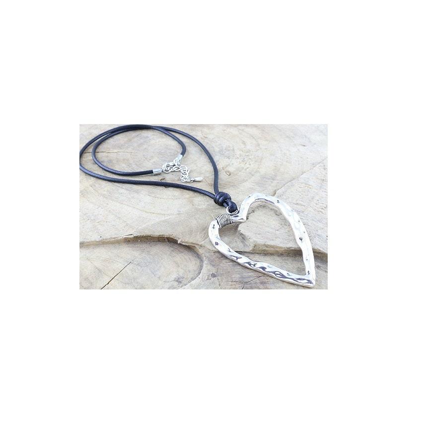 Lagenlook Jewellery: Lagenlook Quirky Necklace Gift For Her Birthday Love