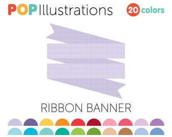 Ribbon Banner Clip-Art for Commercial Use - A0239