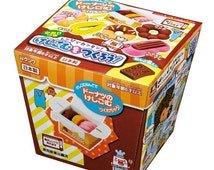 Japanese Popular DIY Kit !! Kutsuwa Kawaii Donuts Eraser Making Kit with Scented Clay - Shipping from Japan