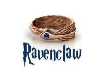 Ravenclaw Harry Potter House/School Ring! Slytherin/Gryffindor/Ravenclaw & Hufflepuff!