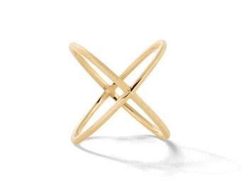Sterling silver criss cross ring, criss cross ring, silver criss cross ring, x cross ring, cz criss cross ring, crisscross ring, x rings.