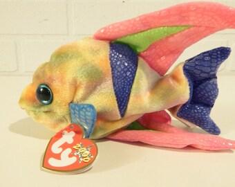 TY fish Beanie Aruba The Gold fish Retired beanies