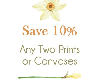 Create your Own, SET of TWO Prints or Canvases, Canvas Set of Two, Print Set of Two, Custom Wall Art, Custom Gallery Wall Set