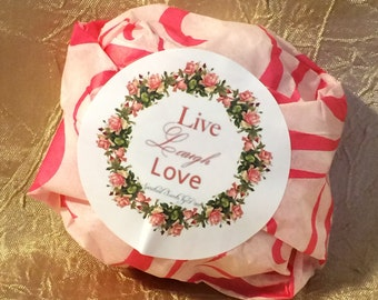 Live Laugh Love Shea Butter Bar Soap