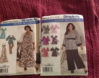 Plus size pattern lot