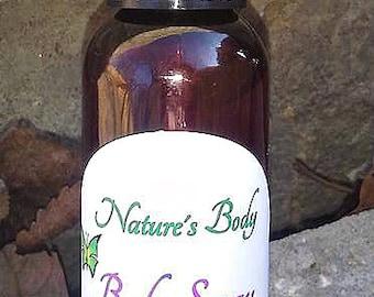 Warm Vanilla & Sugar Body Spray, Natural Body Spray, Body Splash, Paraben Free
