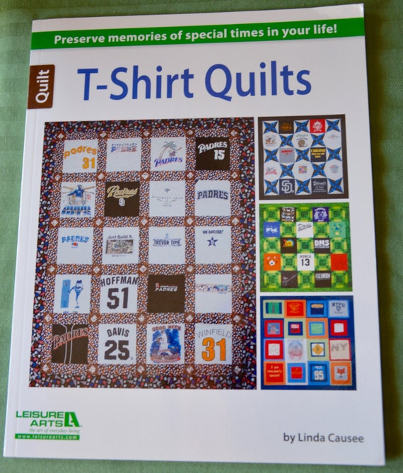 T Shirt Quilt Pattern Book : T-shirt quilts 7 unique T-shirt patterns book by by AnnikasArts