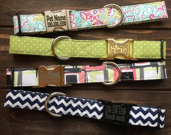 Dog collar, Engraved buckle collar, personalized dog collar, dog collar upgrade, engraved dog collar, personalized collar, engraved collar