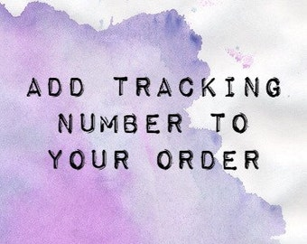 Add Tracking to Your Order!