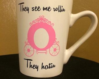 Princess Ridin Dirty Coffee Mug