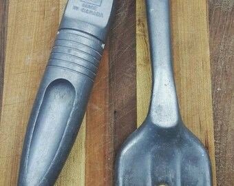 Vintage Gardening Tools/ Made in Canada / Aluminum / Gardener Decor