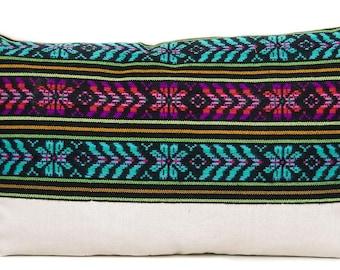 Yucatan Colorful Lumbar Pillow