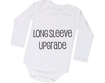 Long Sleeve Bodysuit Upgrade