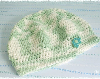 Baby hats, turquoise