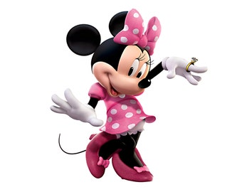 Minnie Mouse Wall Decal Room Decor - Large