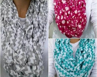 European Style infinity scarf ; hand made; Women fashion accessory;infinity scarves