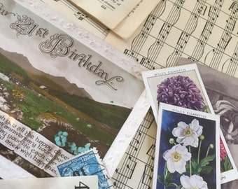 PAPER Vintage Craft Inspiration Pack - full of delightfulness to add charm to any crafty project!