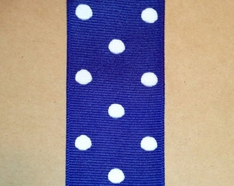 ON SALE 1.5 inch Dippy Dots Ribbon