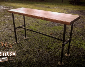 Industrial Bar Bench - ON SALE!!!