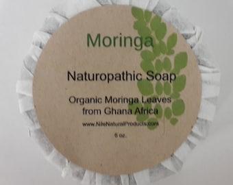Moringa Naturopathic Soap - 3 Bars