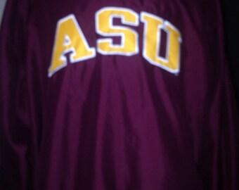 ASU Sweatshirt/windbraker XL