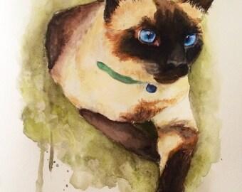 Custom Pet Portait Painting