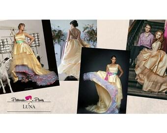 Our LUSCIOUS LUNA dress by Petticoats A Plenty