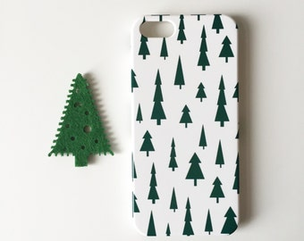 Christmas phone case / pines phone case / festive phone case / available for iPhone and Samsung Galaxy phones / FREE UK SHIPPING