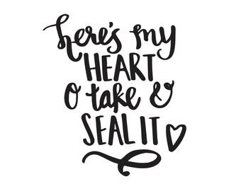 Here's My Heart -- Come Thou Fount -Mini- Lyrics PRINT