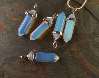 Opal Opalite Point Pendant