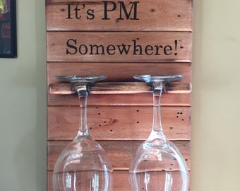 It's PM Somewhere Kitchen Decor