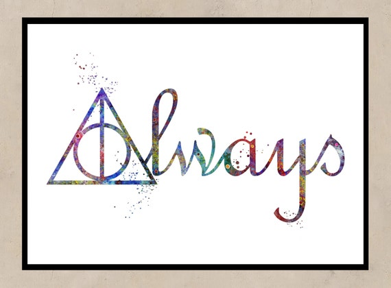 Deathly Hallows Symbol Always Gallery Free Symbol And Sign Meaning