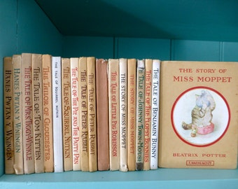 Beatrix Potter Books Very Vintage, Vintage & Almost New