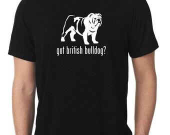 Got British Bulldog T-Shirt english T342