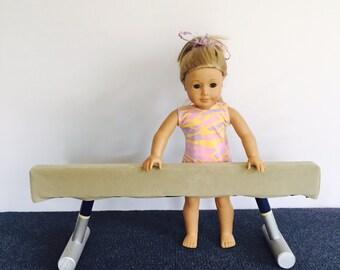 American Girl Doll Gymnastics Balance Beam (Eighteen Inch Doll Balance Beam)